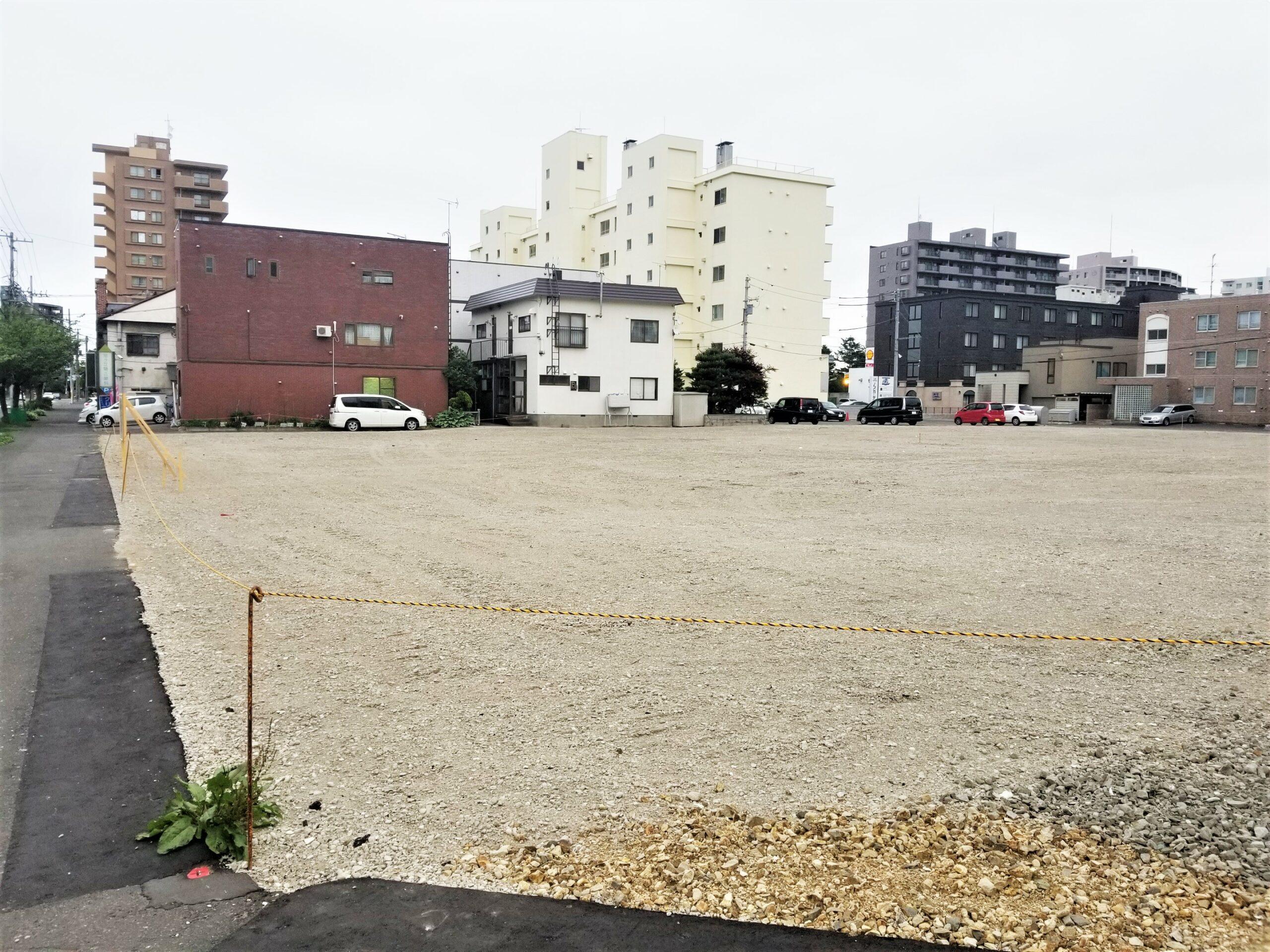 北海道セキスイハイムが札幌・南11西22で818坪18戸の宅地造成